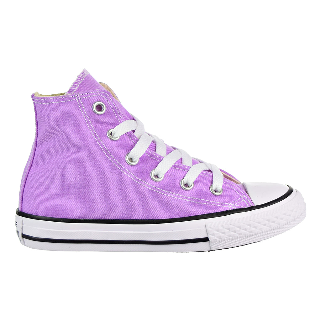Converse Chuck Taylor All Star Hi Kid's Shoes Fuchsia Glow