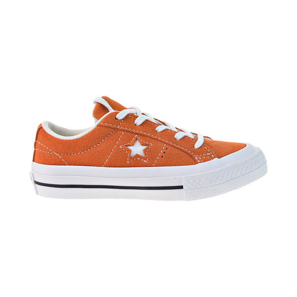 Converse One Star Oxford Little Kids' Shoes Bold Mandarin