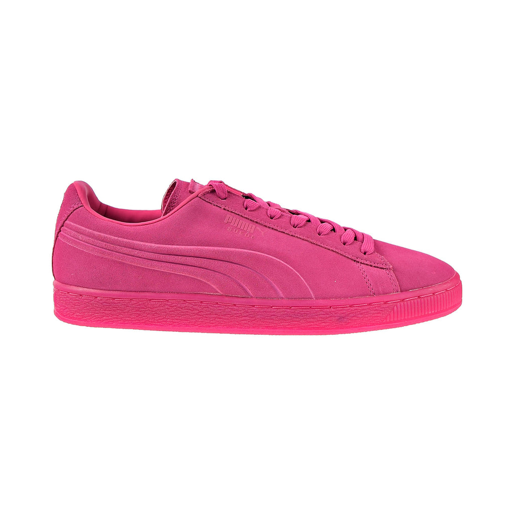 Puma Suede Embossed Iced Fluo Men's Shoes Beetroot Purple