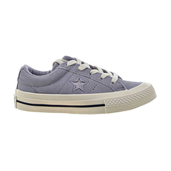 Converse One Star Ox Little Kids' Shoes Provence Purple-Silver