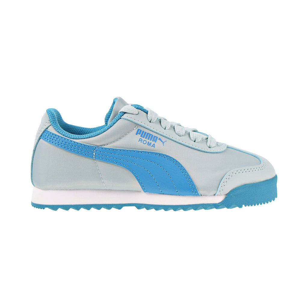 Puma Roma Basic Summer PS Little Kid's Shoes Light Sky-Caribbean Sea
