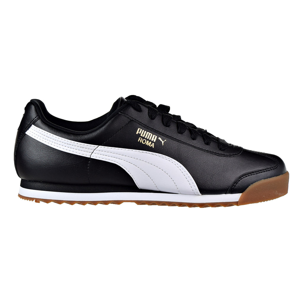Puma Roma Basic Gold Men's Shoes Puma Black/Puma White