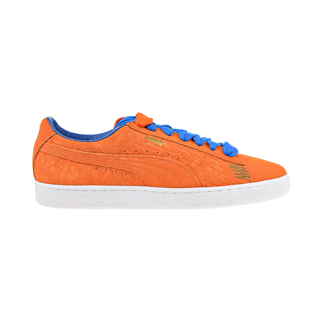 Puma Suede Classic Breakdance New York City Men's Shoes Orange