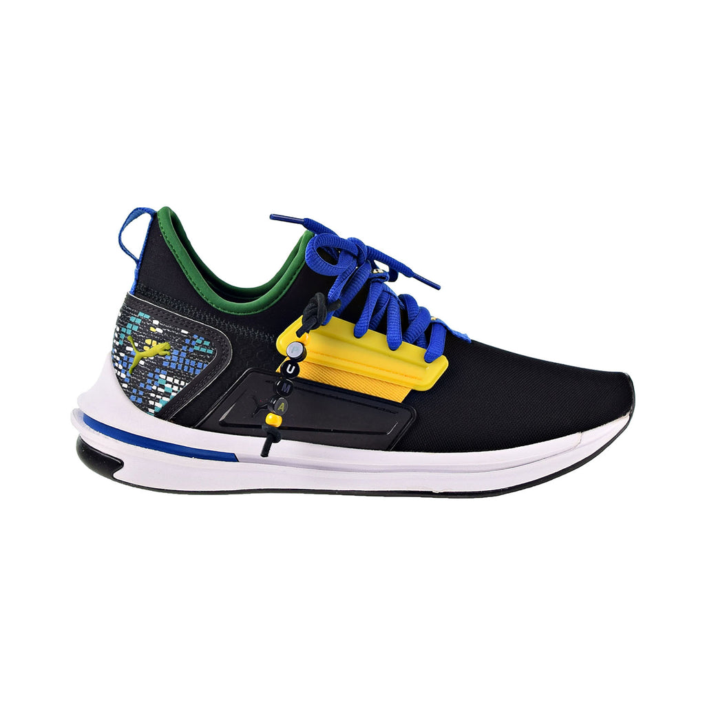 Puma Ignite Limitless Street Runner Carnival Men's Shoes Black-Multicolor
