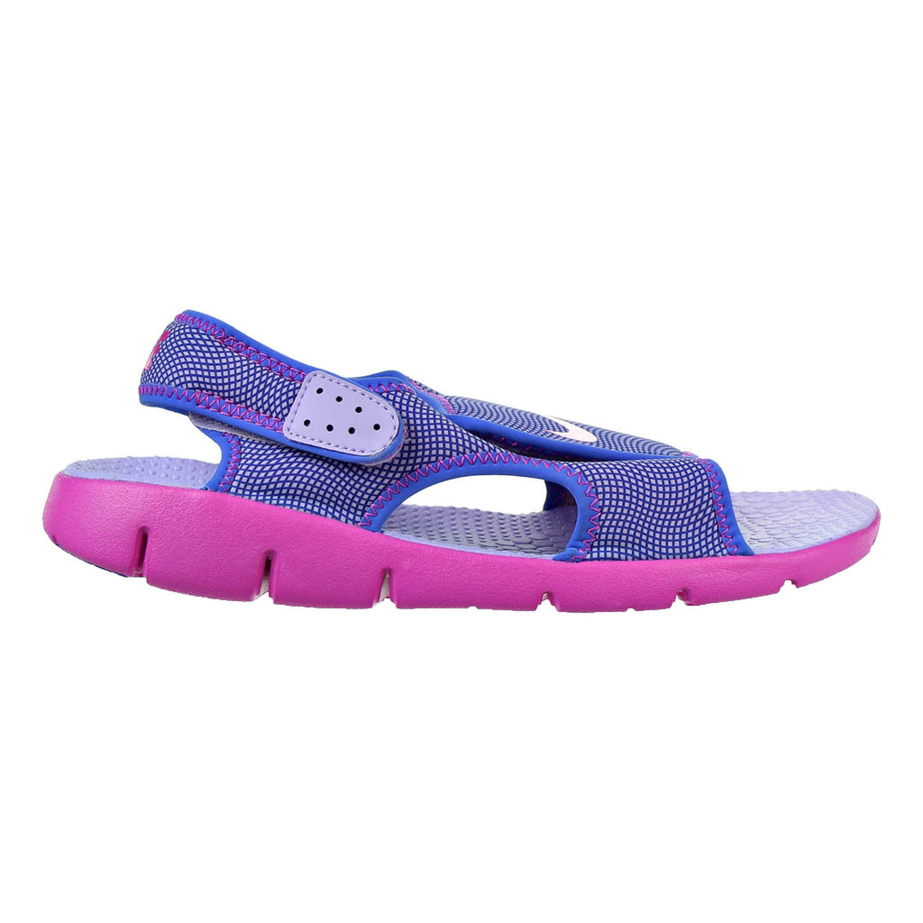 Nike Sunray Adjust 4 Boys (GS/PS) Shoes Hydrangeas/Comet Blue/Pink