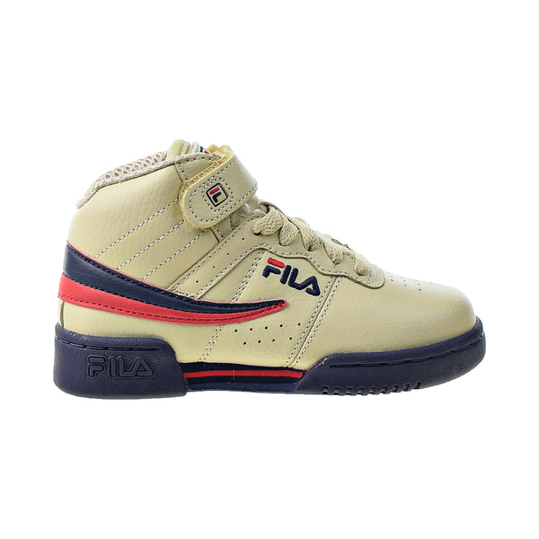 Fila F-13 Kids' Shoes Cream-Navy-Red