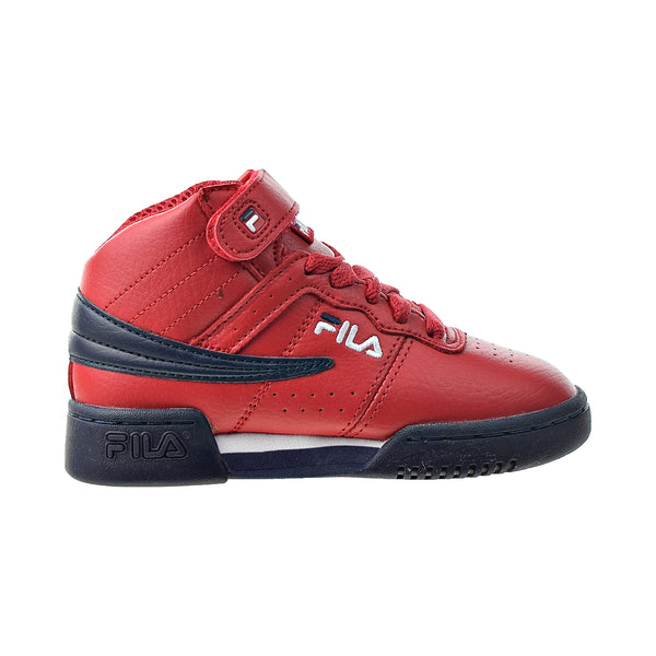 Fila F-13 Kids' Shoes Red-Navy-White