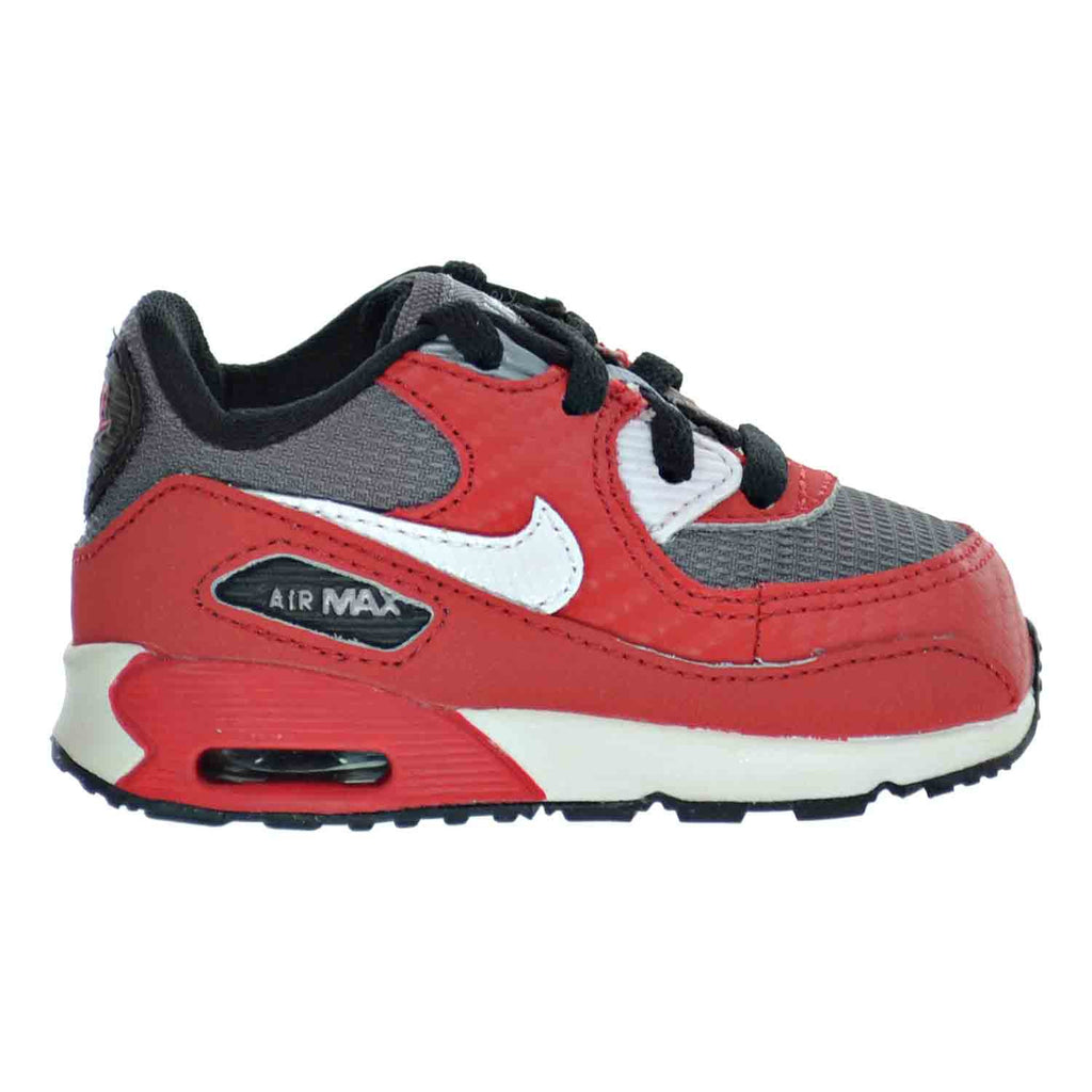 cheap for discount 2f9e4 723c0 Nike Air Max 90 (TD) Toddler Shoes University Red White Metallic Cool –  rbdoutlet