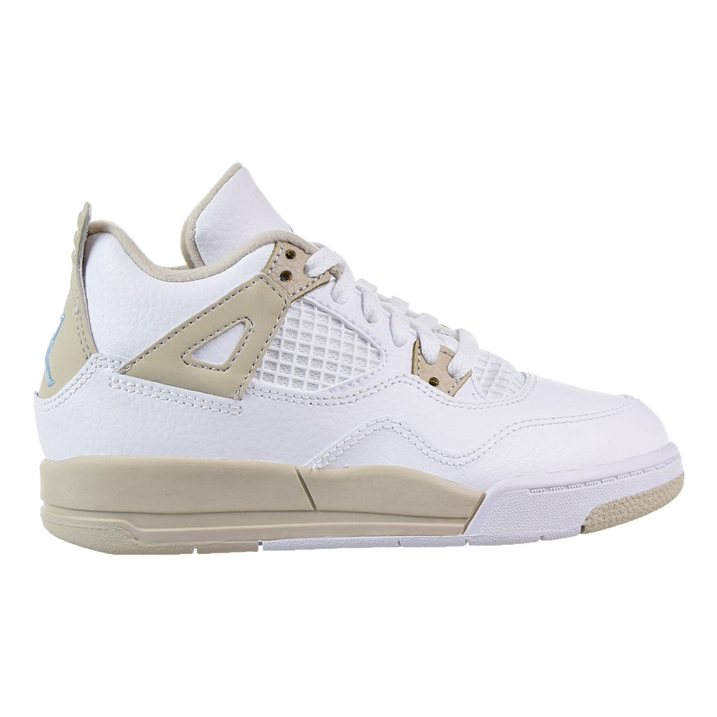 best service 49942 a3fca Jordan 4 Retro GP Little Kid's Shoes White/Boarder Blue/Light Sand