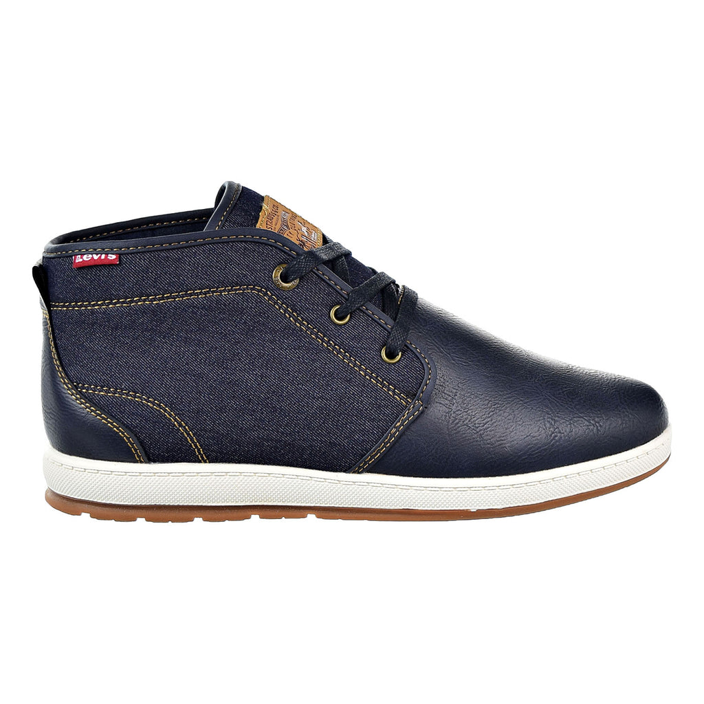 Levi's Ace Millstone Denim Mens Shoes Navy