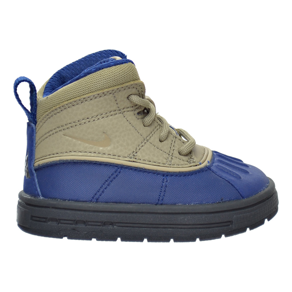 Nike Woodside 2 High (TD) Toddler's Boots Coastal Blue/Khaki/Anthracite