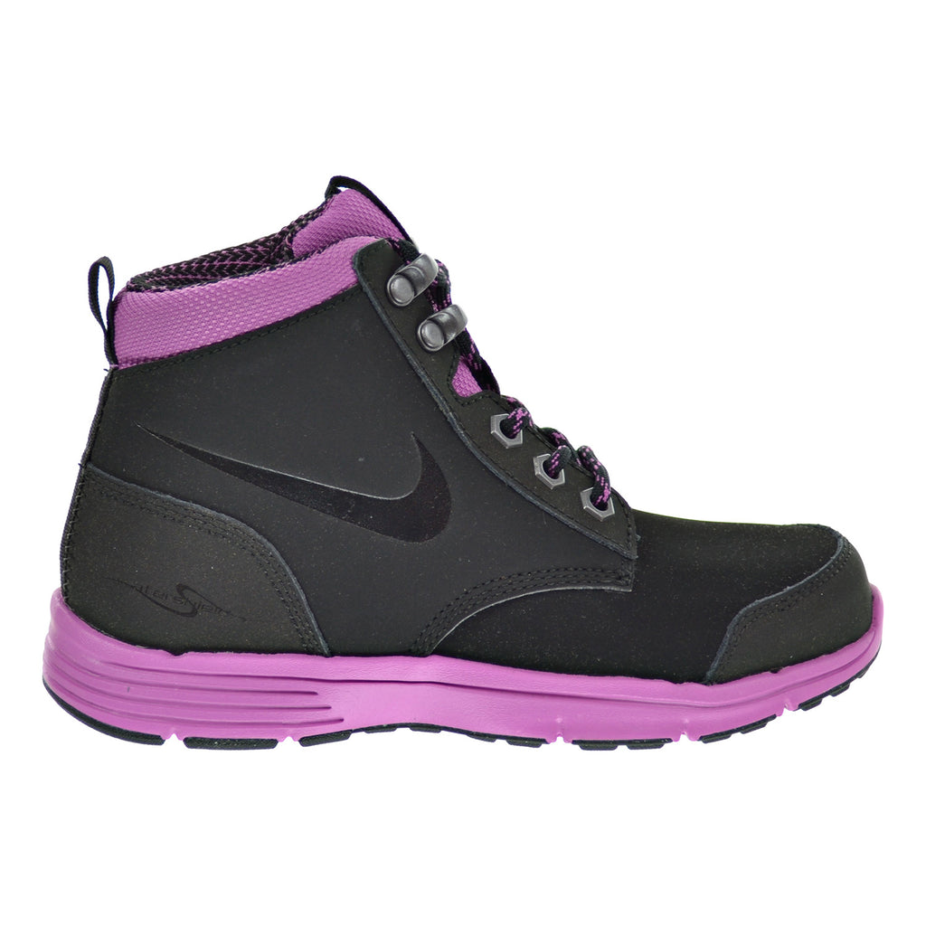 Nike DF Jack Boot (PS) Little Kid's Shoes Black/Viola/Metallic Dark Grey