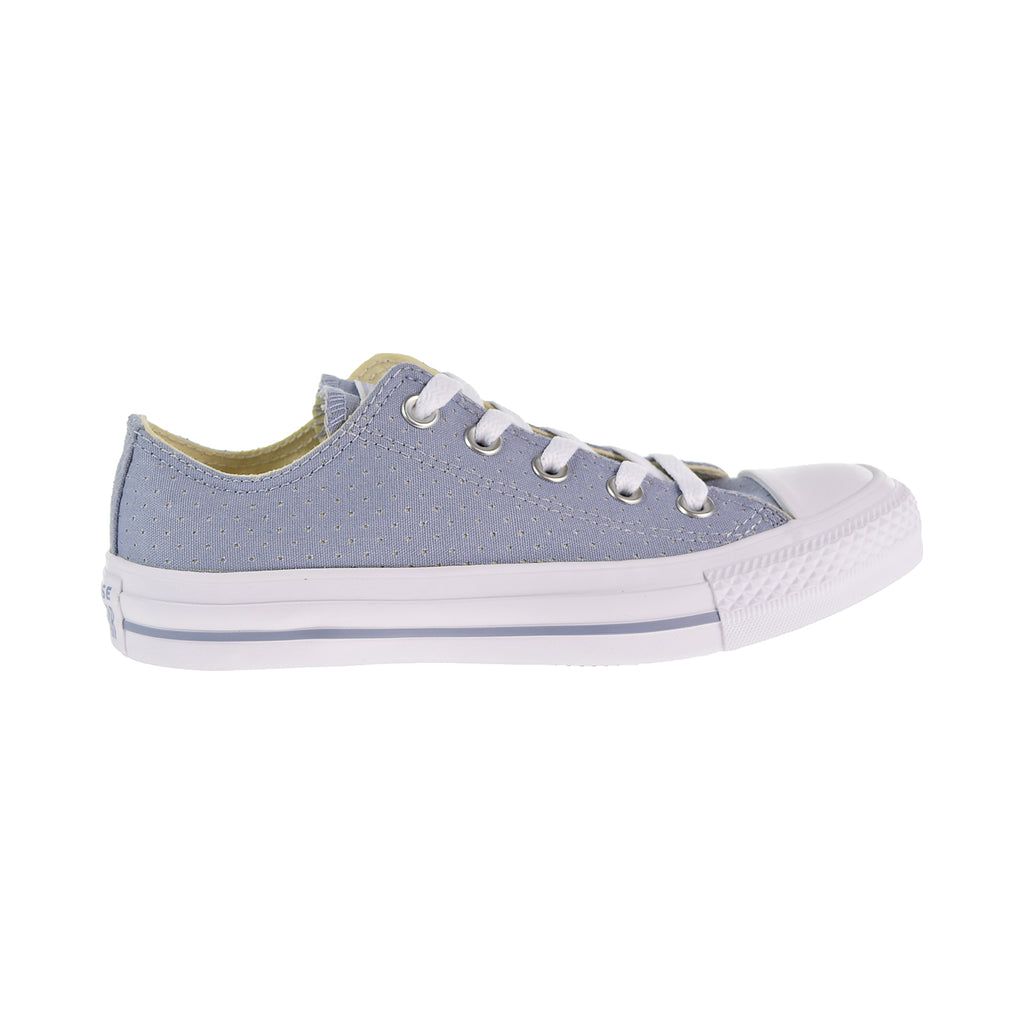 Converse Chuck Taylor All Star Ox Perforated Women's Shoes Glacier Grey/White