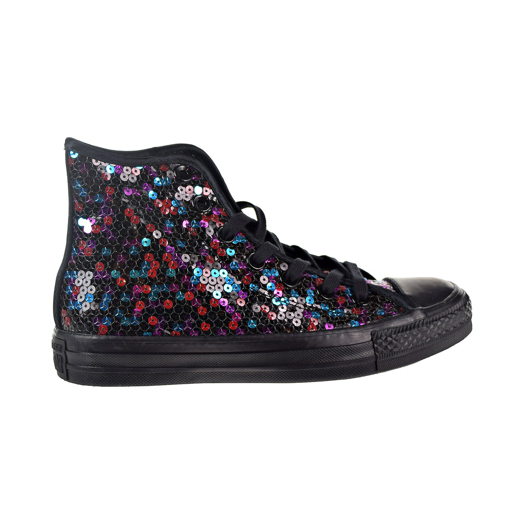 Converse Chuck Taylor All Star Hi Women's Shoes Black/Blue/Cherry Red