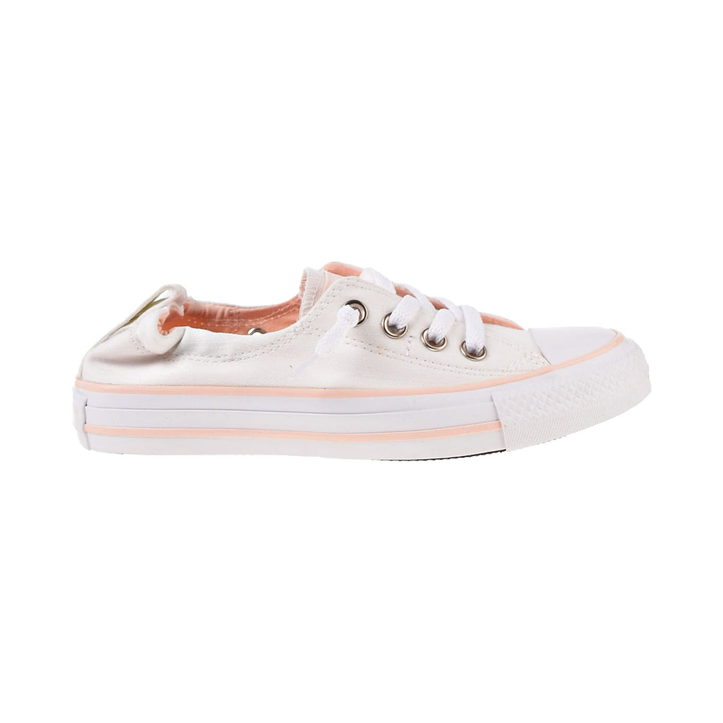 Converse Chuck Taylor All Star Slip-On Women's Shoes White-Washed Coral