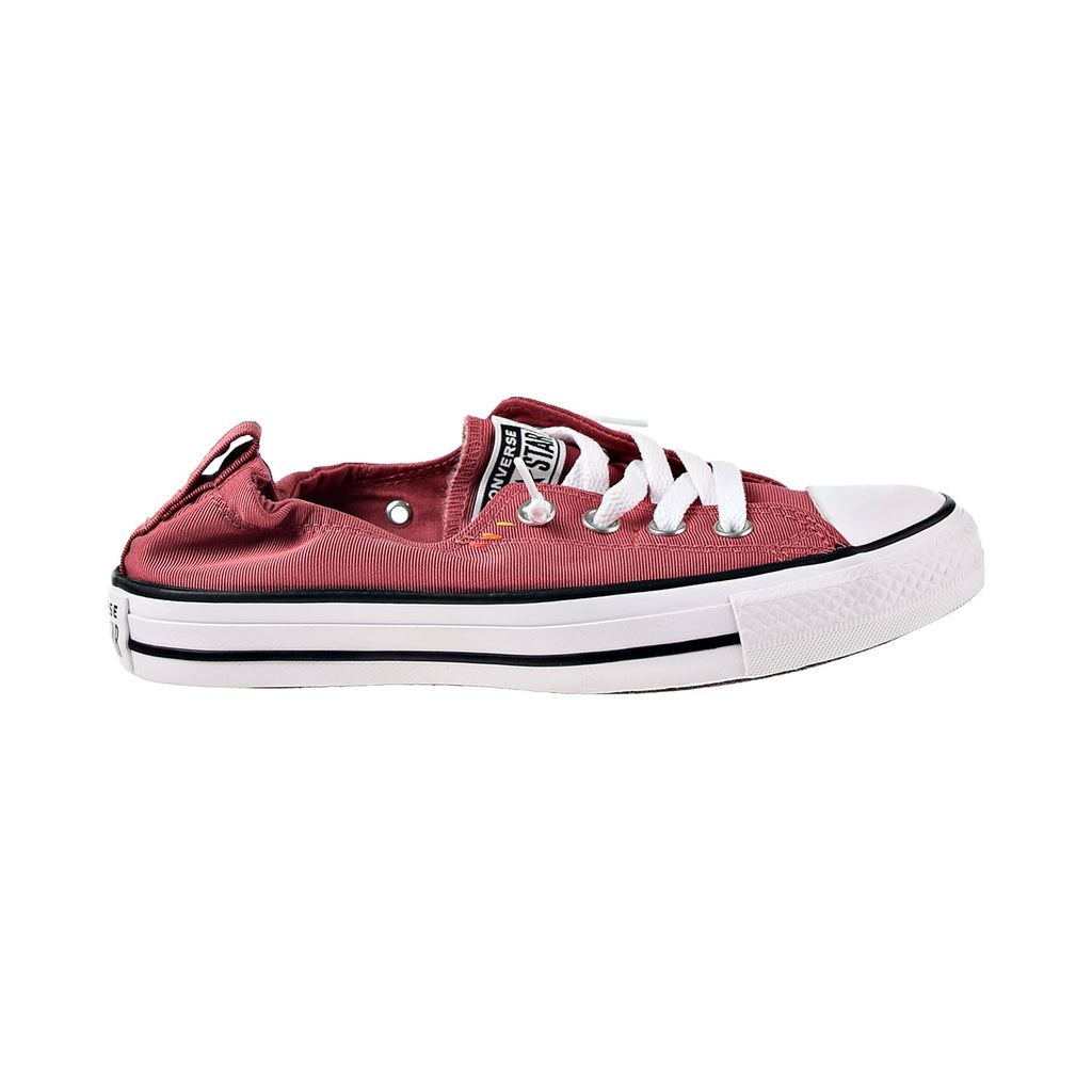 Converse Chuck Taylor All Star Shoreline Slip-On Womens Casual Shoes Red-White