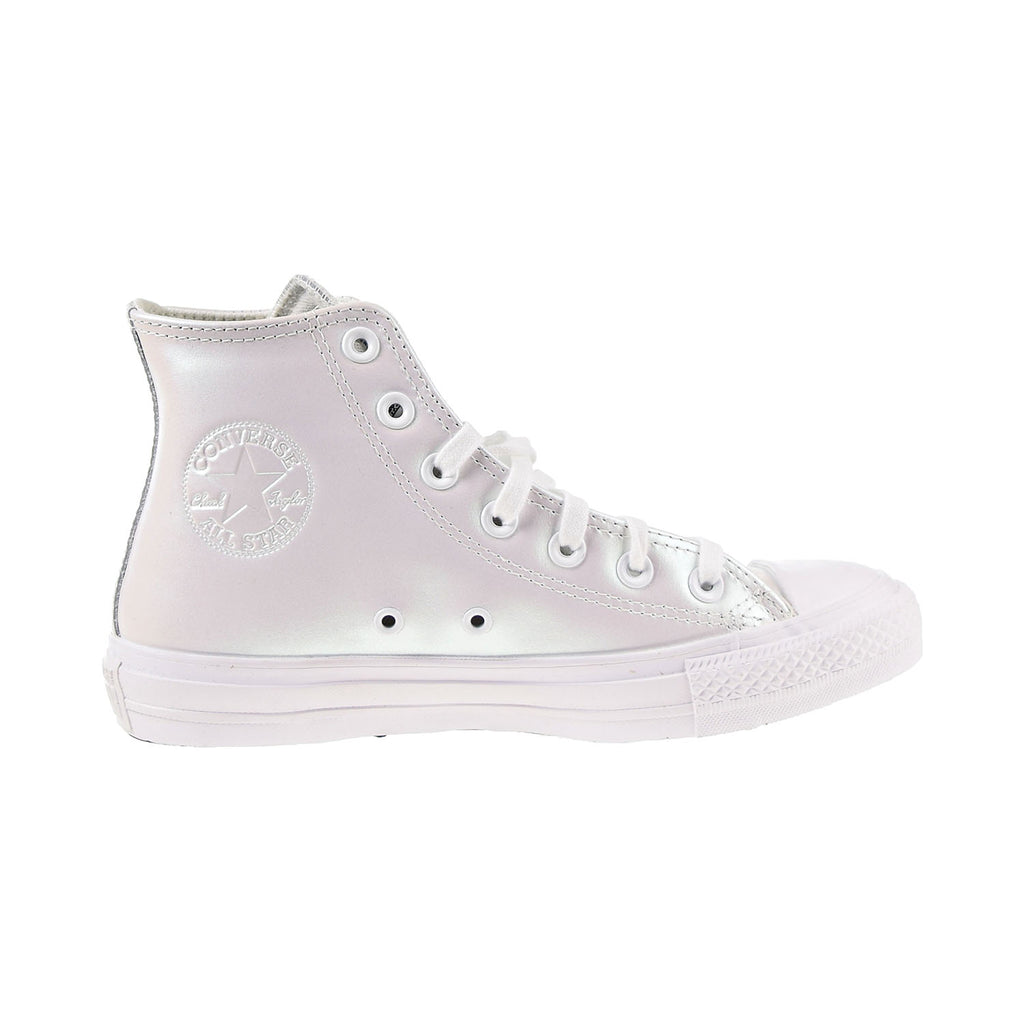 "Converse Chuck Taylor All Star HI ""Iridescent"" Women's Shoes White"