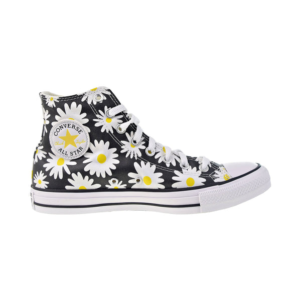 Converse Chuck Taylor All Star Pocket Hi Women's Shoes Black-Speed Yellow-White