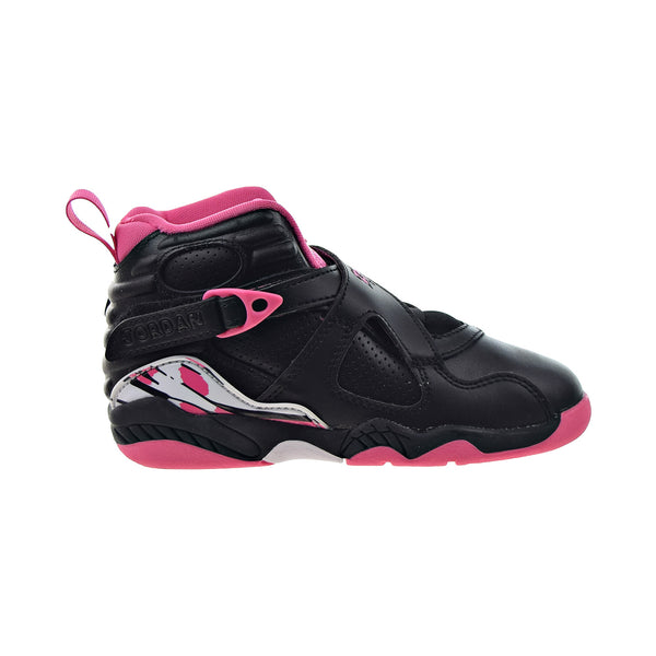 "Jordan Retro 8 (PS) ""Pinksicle"" Little Kids' Shoes Black-White"