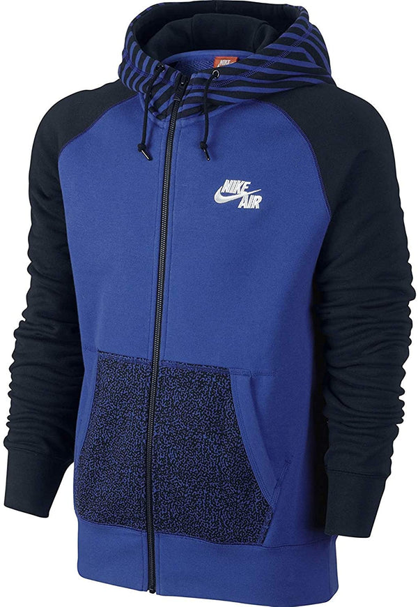 Nike Air Playmaker Full Zip Men's Hoodie Navy