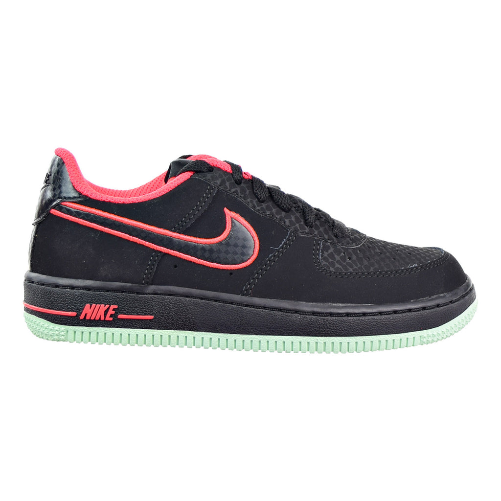 Nike Air Force 1 Little Kid (PS) Shoes Black/Black