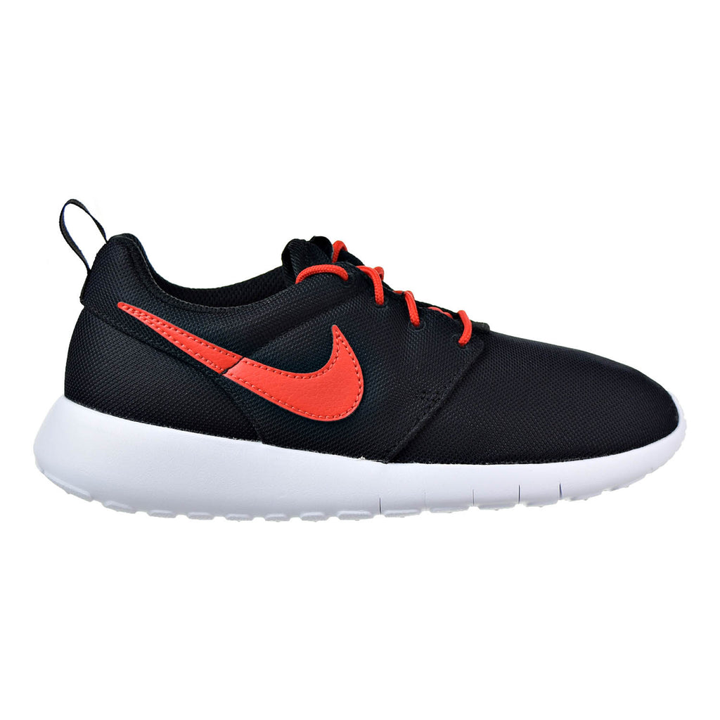 Nike Roshe One Big Kids (GS) Shoes Black/Max Orange-White