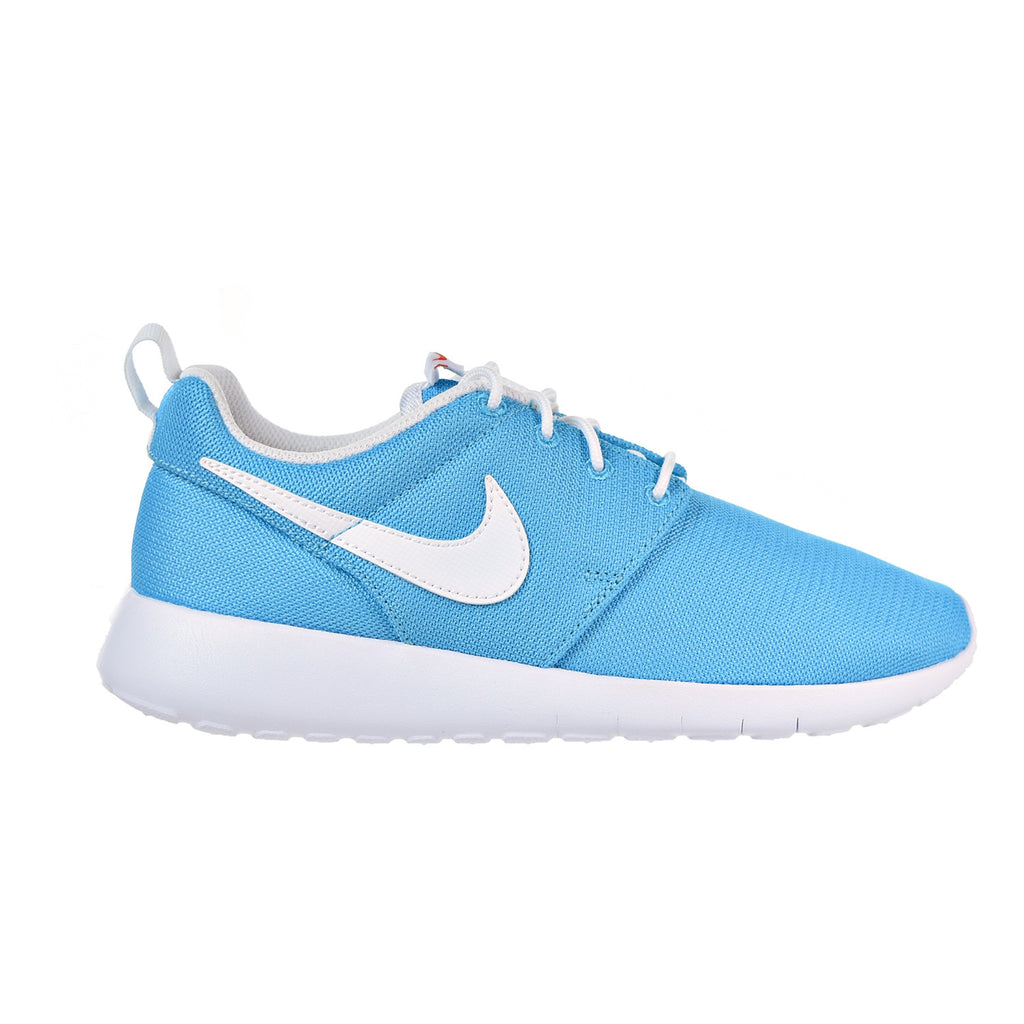Nike Roshe One Boys Shoe Chlorine Blue/White/Safety Orange