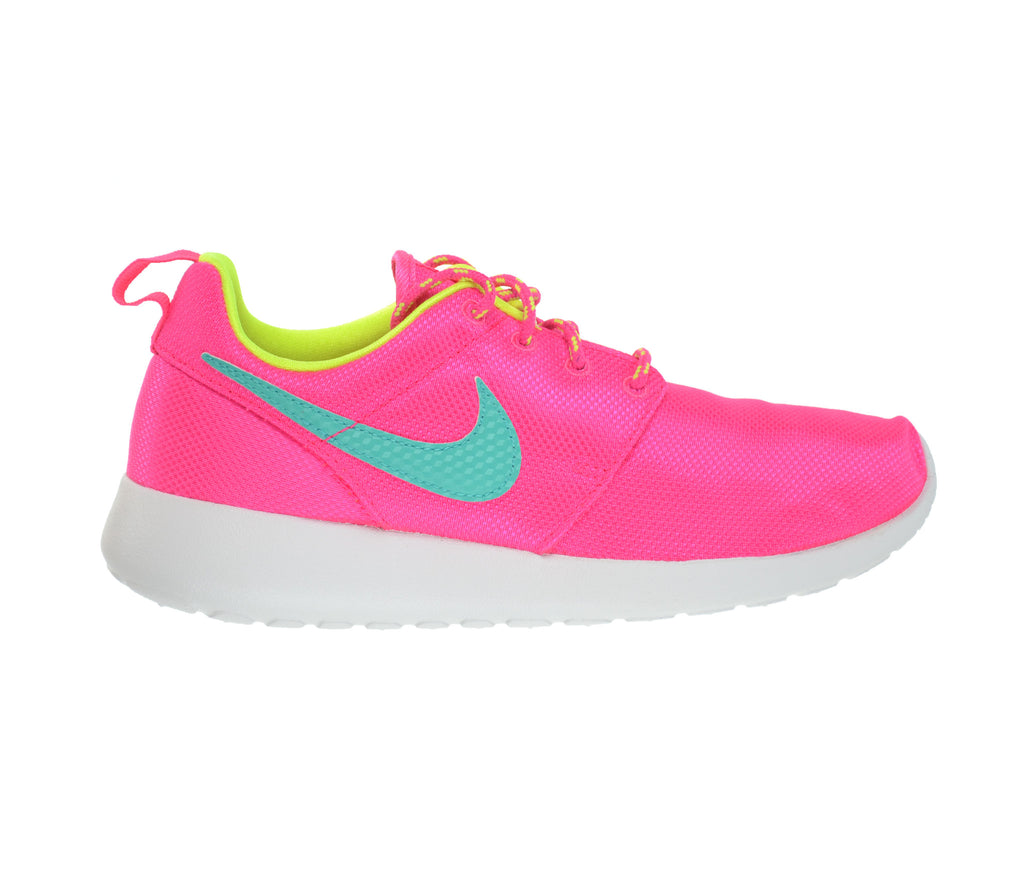Nike Rosherun Big Kids Shoes Hyper Pink/Jade-Volt-White/Blue