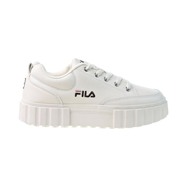 Fila Sandblast Low Women's Shoes Gardenia-Misty Rose-Deep Mahogany