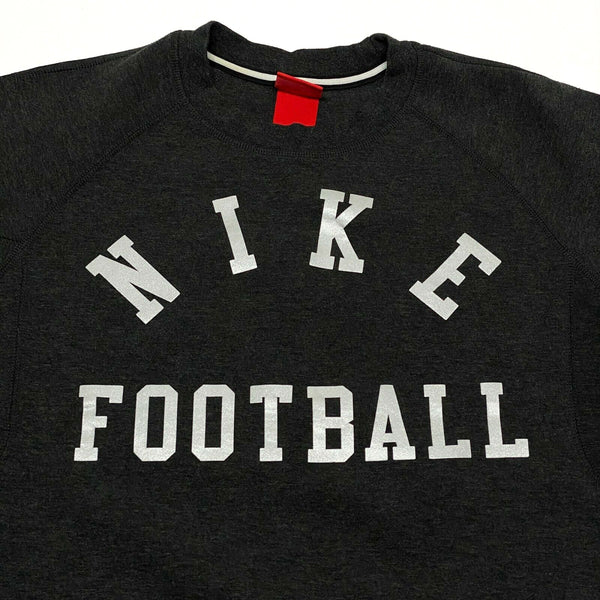 Nike Men's Football Fleece 1.0 Pullover Sweatshirt Dark Gray