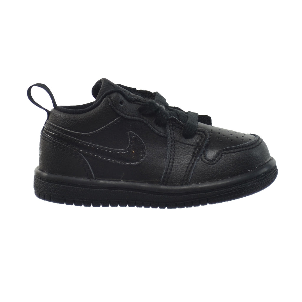 Jordan 1 Low BT Toddlers Shoes Black/Black/Black