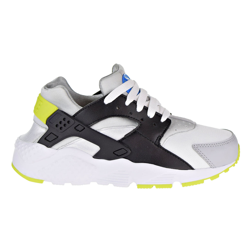Nike Huarache Run Big Kids' Running Shoes White/Cyber-Photo Blue
