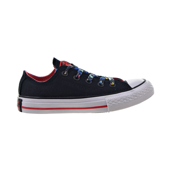 Converse Chuck Taylor All Star Ox Kids' Shoes Black-Ultra Red-White