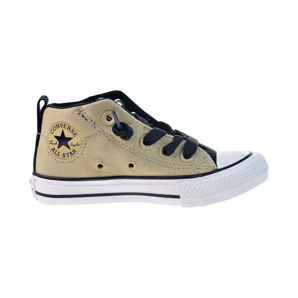 Converse Chuck Taylor All Star Street Mid Little Kids' Vintage Khaki-White