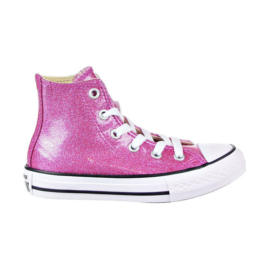 Converse Chuck Taylor All Star Hi Little Kid's Shoes Violet/Natural/White