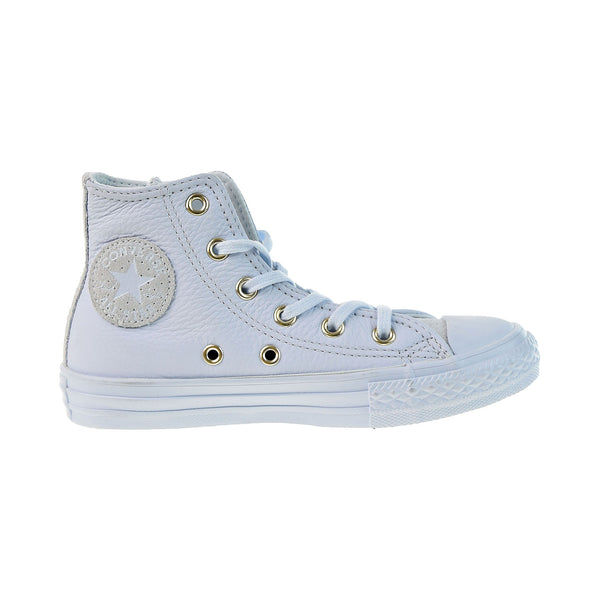 Converse Chuck Taylor All Star Hi Little Kids' Shoes Blue Tint