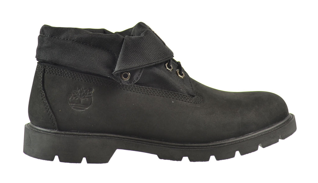 Timberland Basic Roll Top Men's Boots Black