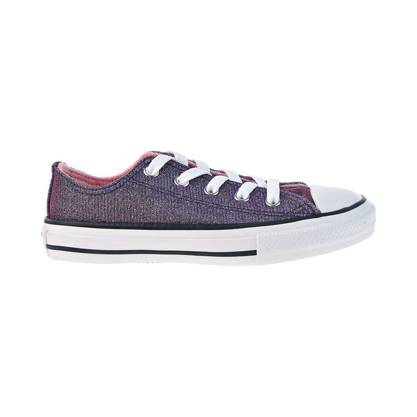 Converse Chuck Taylor All Star Ox Little Kids' Shoes Coastal Pink-Silver