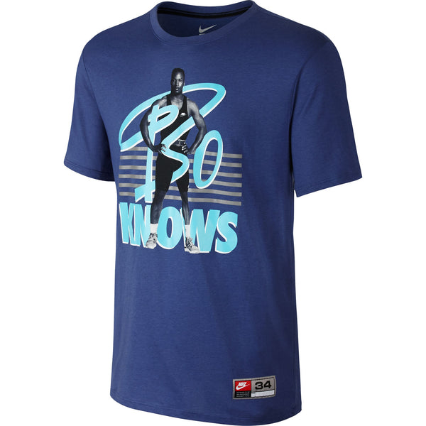 Nike Bo Knows Bo Jackson Men's T-Shirt Blue