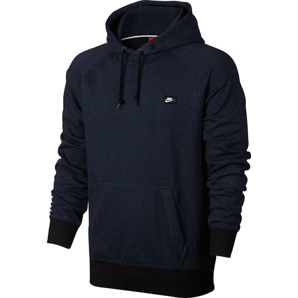 Nike Men's French Terry Shoebox Pullover Hoodie Navy-Black