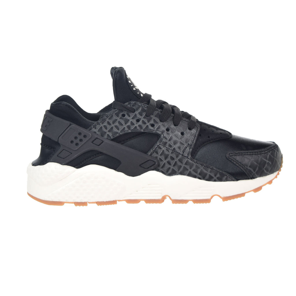 Nike Air Huarache Women's Running Shoes Black/Sail/Gum Medium Brown