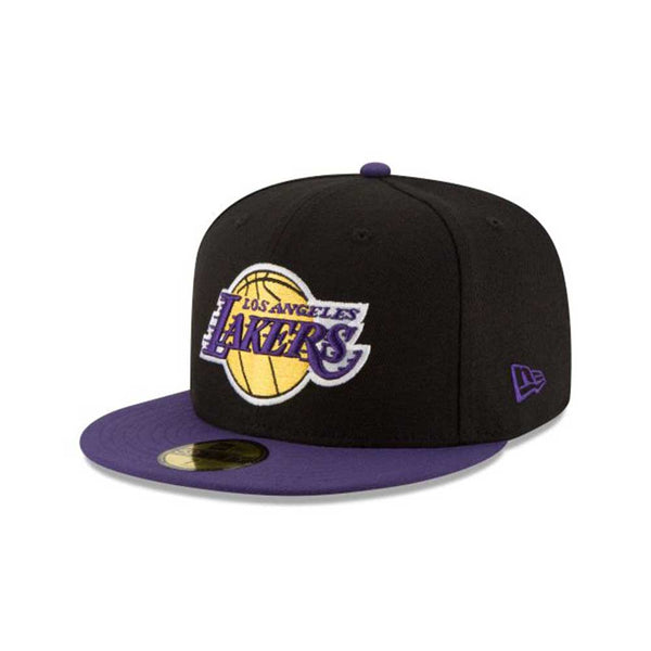 New Era Los Angeles Lakers 2Tone 59Fifty Fitted Men's Hat Black