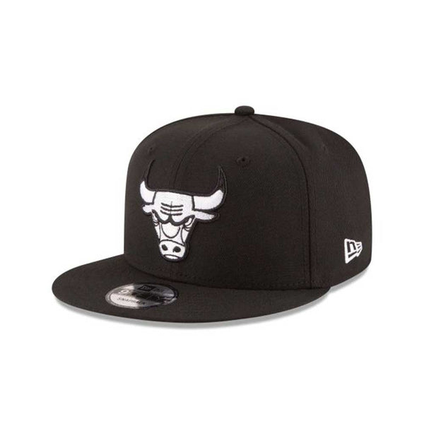 New Era Chicago Bulls 9Fifty Snapback Men's Hat Black