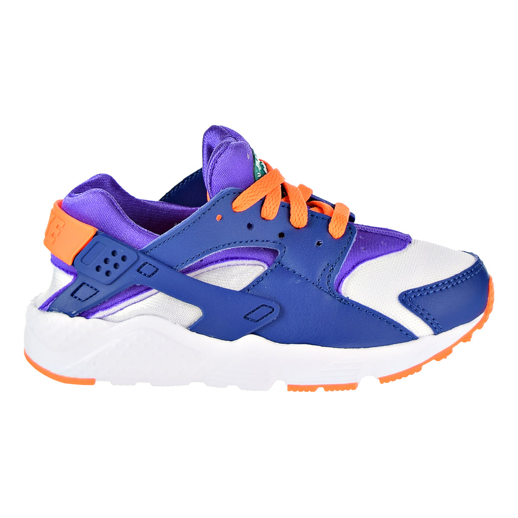 Nike Huarache Little Kid's Running Shoes White/Cone/Gym Blue