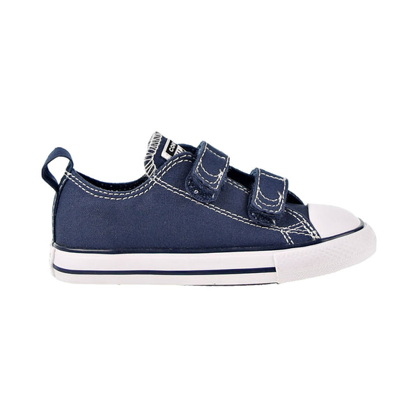 Converse Chuck Taylor All Star 2V Low Top Toddler Shoes Athletic Navy-White