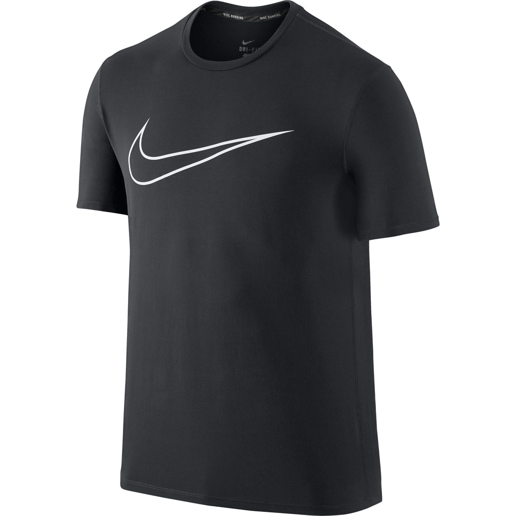 Nike Graphic Counter Men's Running T-Shirt Anthracite/White