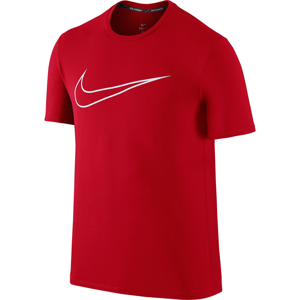 Nike Graphic Counter Men's Running T-Shirt University Red/White