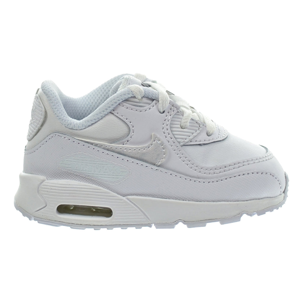 Nike Air Max 90 LTR (TD) Toddler Shoes White/White/Cool Grey
