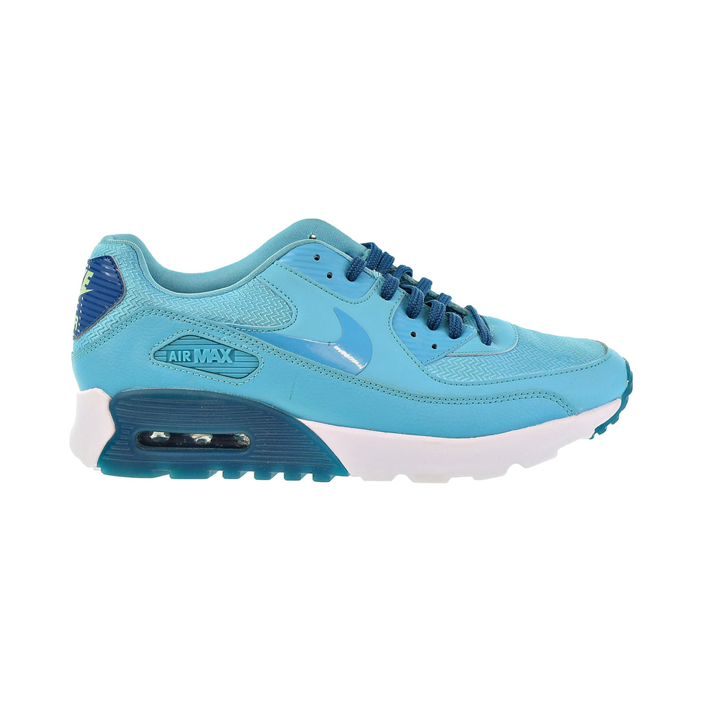 Nike Air Max 90 Ultra Essential Women's Shoes Gamma Blue-Green Abyss