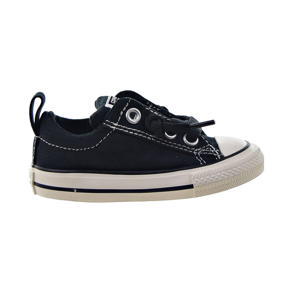 Converse Chuck Taylor All Star Street Ox Toddlers' Shoes Black-White